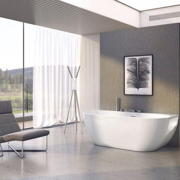 Luksus w małej łazience - nowa wanna wolno stojąca