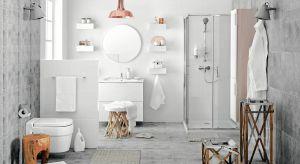 Niezmiennie od lat modnym, uniwersalnym i często wybieranym do łazienek kolorem glazury, podłogi i ścian jest biel.