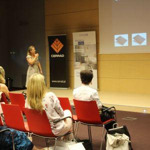 Prezentacja partnera: Katarzyna Tworek z firmy Aurora Technika Świetlna