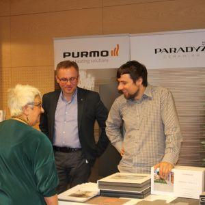 Prezentacja stoiska: firma Ceramika Paradyż, firma Purmo