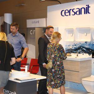 Prezentacja stoiska: firmy Cersanit