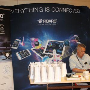 Prezentacja stoiska: firma Fibaro