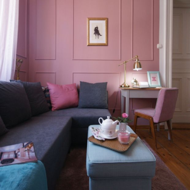 Pokój nastolatki - róż w klasycznym wydaniu