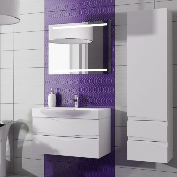 Łazienka w stylu marynistycznym