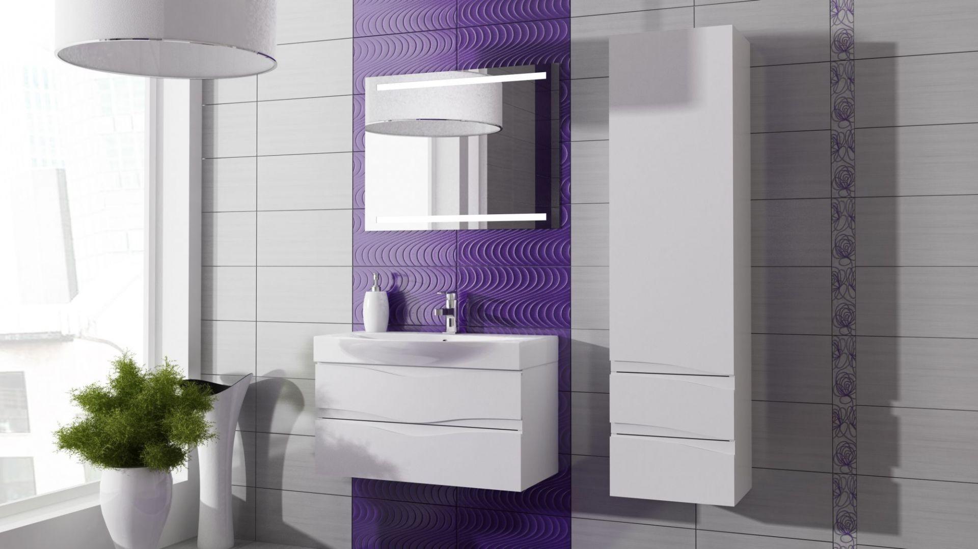 Łazienka w stylu marynistycznym. Fot. Coram