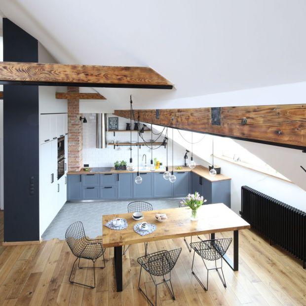 Wnętrze w stylu loft - pomysły architektów