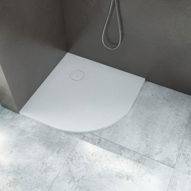 Nowoczesna łazienka - brodzik cięty na wymiar