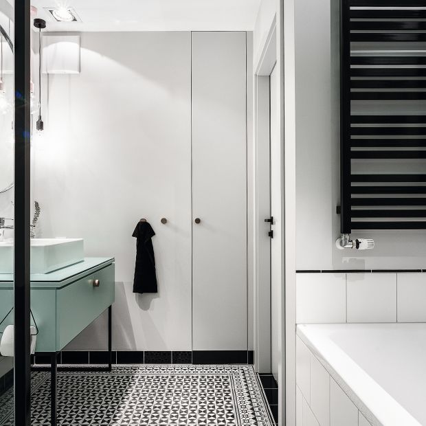 Łazienka w stylu skandynawskim - zobacz piękne wnętrze