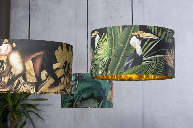 Lampy i abażury - designerska kolekcja z pięknymi deseniami