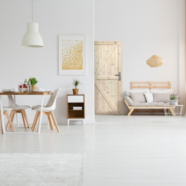 Wnętrze w stylu loft - wybieramy drzwi