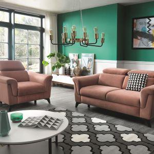 Sofa i fotel Hampton. Fot. Wajnert Meble