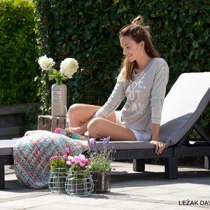 Wypoczynek w ogrodzie. Fot. materiały prasowe Keter i Curver