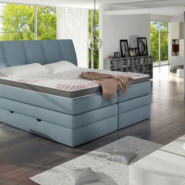 Łóżko kontynentalne - odpoczynek w wielkim stylu