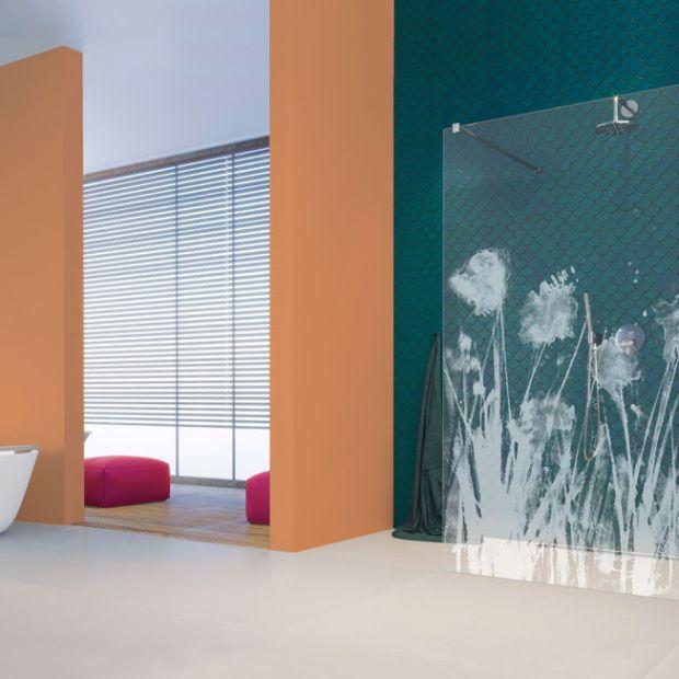 Łazienka w stylu boho - postaw na energię kolorów