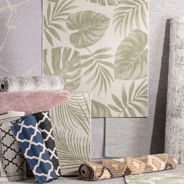 Dywan w salonie - najmodniejsze wzory