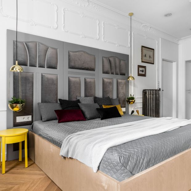Oświetlenie w sypialni - 15 modnych rozwiązań