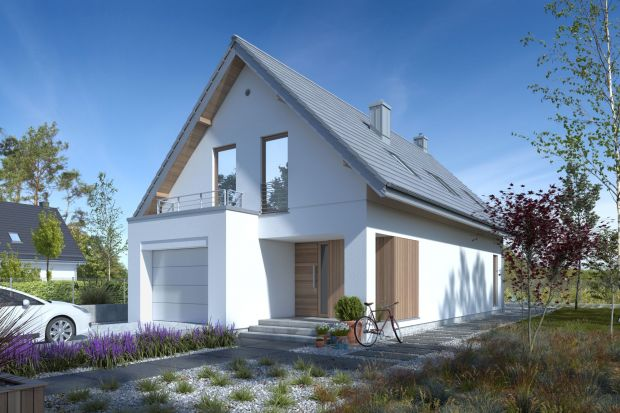 Mały dom z poddaszem - tani w budowie i utrzymaniu