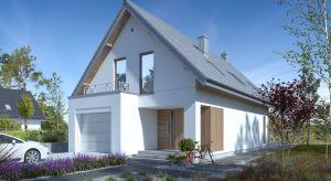 Prosta bryła i energooszczędne rozwiązania sprawiają, że 114-metrowy dom o wdzięcznej nazwie Miły 1, będzie niedrogi w budowie i utrzymaniu.