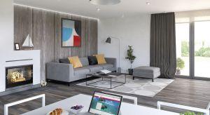 Ariel 4 to dom o powierzchni 140 mkw. Zaprojektowanie wszystkich pomieszczeń na jednym poziomie, sprawi, że wyjątkowo dobrze sprawdzi się w przypadku rodzin z dziećmi, jak również osób starszych.