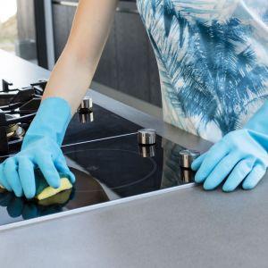 Warto zainwestować w rękawice, które nie tylko ochronią dłonie w trakcie sprzątania, ale również będą je pielęgnować. Fot. Vileda