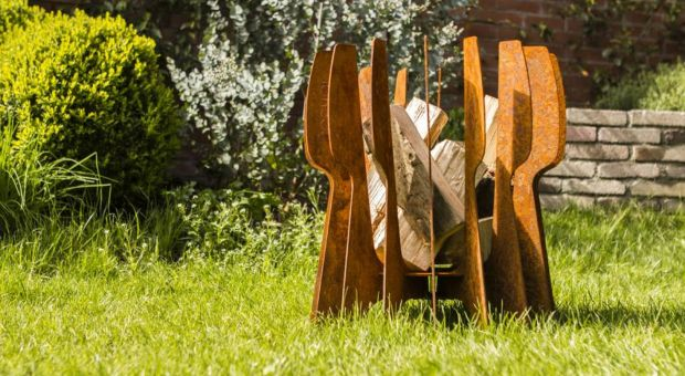 Efektowne palenisko w ogrodzie - na długie letnie wieczory