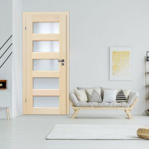 Salonowe kompozycje z drzwiami w tle: model Istria marki Radex. Fot. 4iQ Group