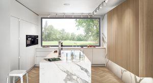 Czyste formy nowoczesnej, minimalistycznej kuchni gwarantują jej ponadczasowy charakter, a dopracowane detale i wykończenia nadają meblom luksusowy charakter.