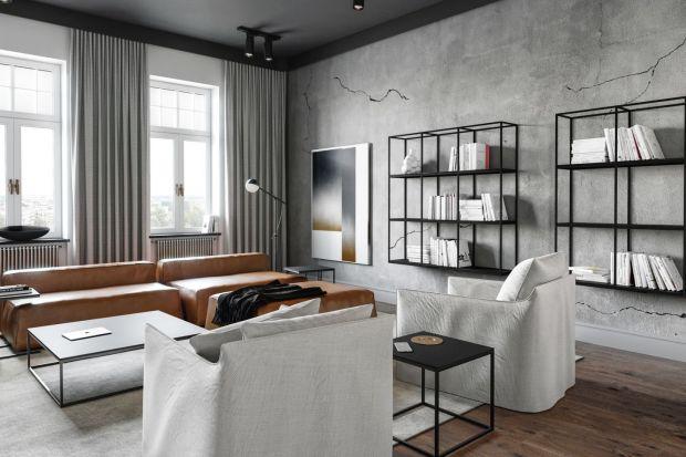 Wnętrze w kolorach ziemi - zobacz piękne mieszkanie