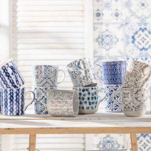 Porcelana Italy Design, kolekcja Casa Dekor, Camouflage, Ethnic. Fot. Dekoria.pl