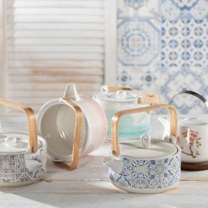 Czajniki porcelanowe – Natura, Casa Decor, Artesanal, Sakura, Aqua. Fot. Dekoria.pl