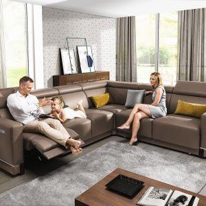 Sofa modułowa Belize firmy Wajnert Meble. Fot. Wajnert Meble