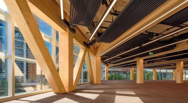 Biurowiec International House - ekologia w parze z designem