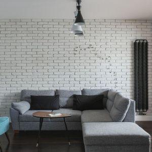 Fotel w salonie.  Projekt: MAF Group. Fot. Emi Karpowicz