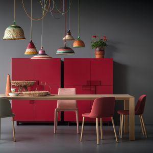 Lite drewno w wydaniu minimalistycznym. Tego typu stół podkreśla nowoczesny styl wnętrza. Fot. Pianca