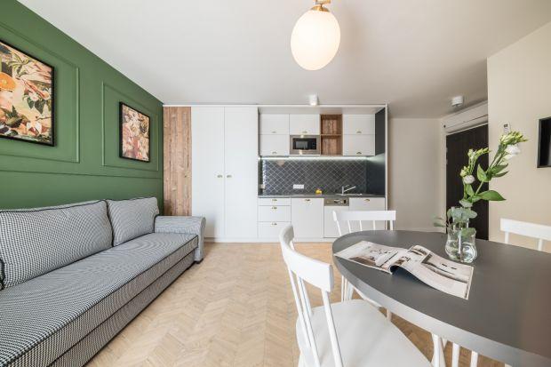 Piękne mieszkanie w Krakowie - art déco w nowoczesnym wydaniu