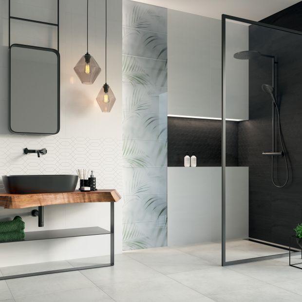 Nowe kolekcje płytek do łazienki - inspiracja naturą i geometryczne wzory