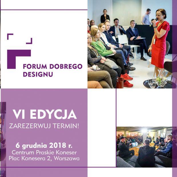 VI Forum Dobrego Designu 6 grudnia w Warszawie