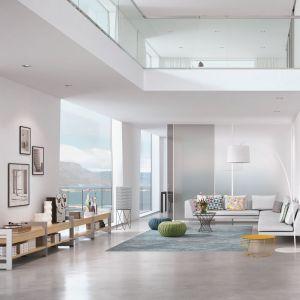 Architektoniczne, proste formy i detale są naturalnym elementem nie tylko minimalistycznych wnętrz. Przez swój neutralny charakter również w mieszkaniach zaaranżowanych w bardziej dekoracyjny sposób mogą znaleźć swoje miejsce. Fot. Raumplus