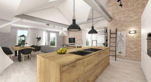 Surowe wnętrza dają dowolność aranżacji w różnym stylu, w zależności od akcentów kolorystycznych czy dodatków.