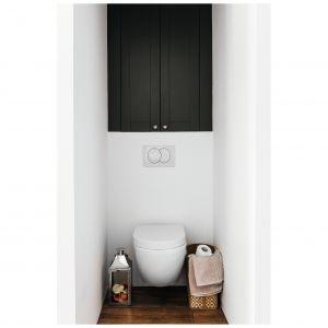 Bezkołnierzowa miska WC Peonia Zero New dzięki zastosowanej technologii ułatwia utrzymanie czystości oraz daje pewność dokładnego spłukania. Dostępna w ofercie firmy Deante. Cena: 599 zł. Fot. Deante