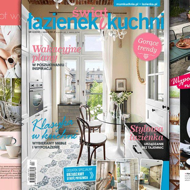 Świat Łazienek i kuchni (4/2018) - nowy numer juz w sprzedaży