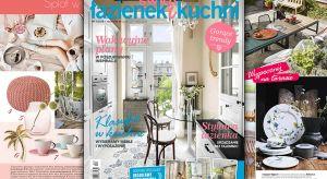 """Na rynku ukazał się właśnie nowy, wakacyjny numer magazynu wnętrzarskiego """"Świat Łazienek i Kuchni"""". Znajdziecie tu dużo inspiracje na letnie wnętrza, ale też praktycznych pomysłów na urządzenie stylowej kuchni i łazienki. W dodatk"""