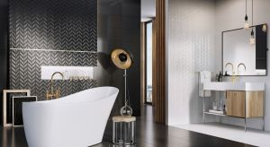 Glazura Roteo w formacie 60x30 cm jest inspirowana klasycznym zestawieniem czerni i bieli, ale w formie idealnie wpasowanej w panujące trendy - niesłychanie nowoczesnej i świeżej.Produkt zgłoszony do konkursu Dobry Design 2019.