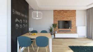 Mieszkanie młodego małżeństwa miało być przytulne, nowoczesne i praktyczne. I właśnie takie jest. Projekt i zdjęcia: Natalia Robaszkiewicz (Boske Art)