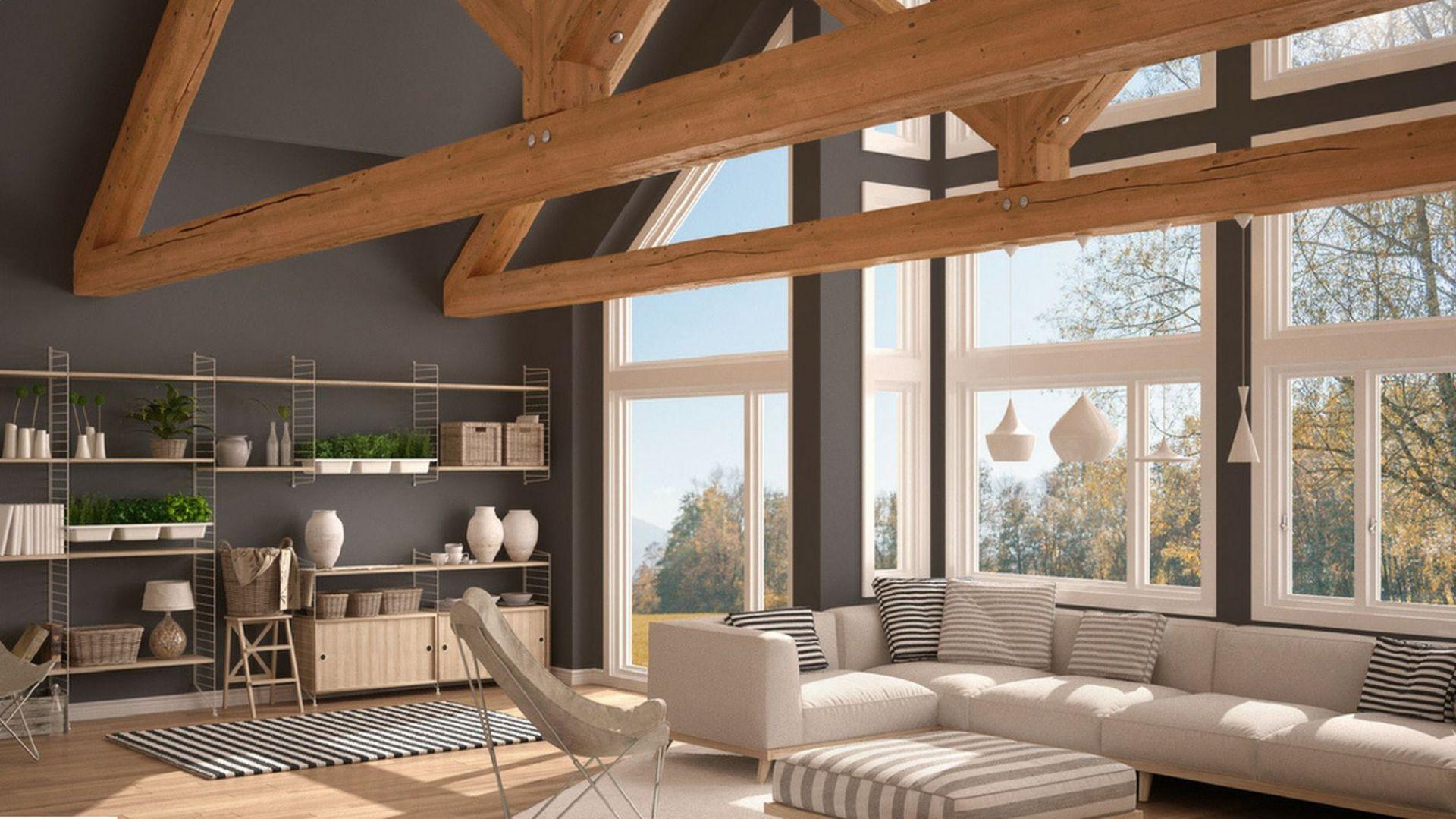 W tzw. styl eko doskonale wpisuje się drewniana podłoga, która wprowadza do wnętrza ciepło i elegancję. Niezawodne kleje do jej montażu oferuje firma Soudal. Fot. Soudal