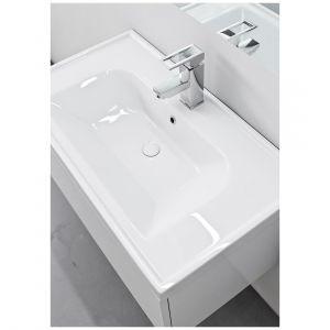 Kolekcja mebli łazienkowych NODO-umywalka FRAME. Fot. Defra