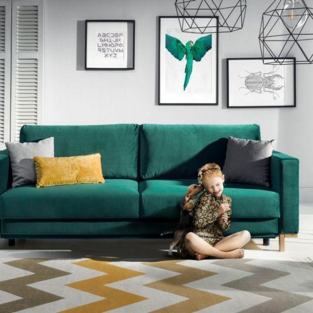 10 pomysłów na piękną kanapę