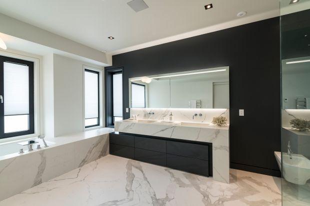Modna łazienka: postaw na spieki kwarcowe