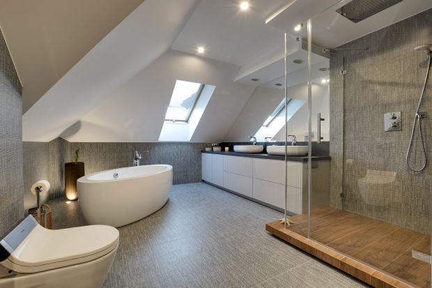 Piękna łazienka - zobacz gotowy projekt wnętrza