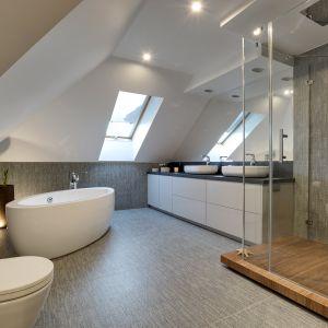 Piękna łazienka. Projekt: Małgorzata Mataniak-Pakuła. Fot. Radosław Sobik
